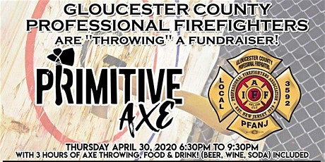 IAFF Local 3592 Primitive Axe Throwing Fundraiser tickets
