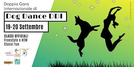 """Doppia Gara internazionale di Dog Dance DDI"" biglietti"