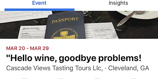 """Hello wine, goodbye problems!"