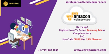 AWS 4 Days Certification Training in London,England,UK tickets