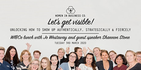 WIBCo Lunch 3rd March: let's get visible! tickets