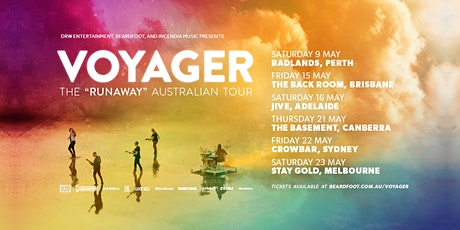"Voyager The ""Runaway"" Australian Tour - Melb tickets"