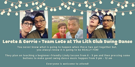 Swing Dance Party at The Lith Club w/ Loreto & Corrie from Get Hep Swing! tickets