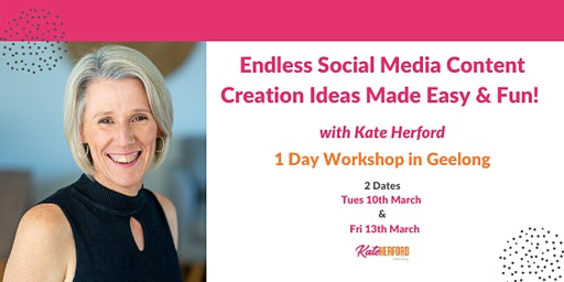 Endless Social Media Content Creation Ideas  - Made Easy and Fun!