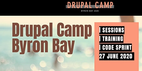 DrupalCamp Byron Bay 2020 tickets