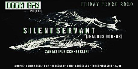 Doom Gen presents Silent Servant (Jealous God | US) tickets