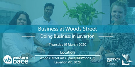 Doing Business in Laverton tickets
