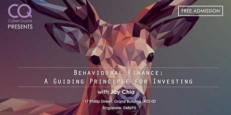 Behavioral Finance: A Guiding Principle For Investing tickets