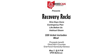 OhioCAN Recovery Rocks Concert tickets