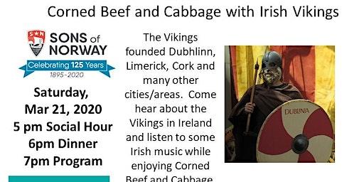 Sons of Norway Mar 21 Dinner -- Vikings in Ireland