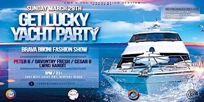 Get Lucky Yacht Party (Newport Beach)