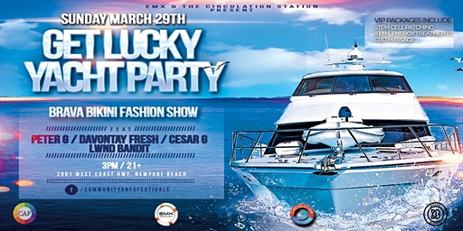 Get Lucky Yacht Party (Newport Beach)