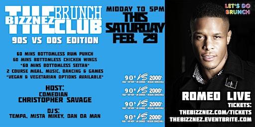 The Bizznez Brunch Club, 90s vs 00s Edition   Saturday Feb 29