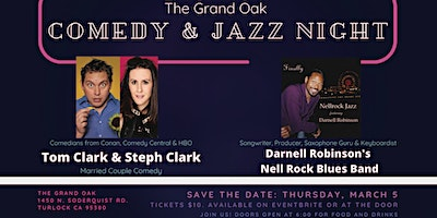 Comedy and Jazz Night