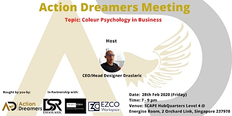 Action Dreamers Meeting - Colour Psychology in Business tickets