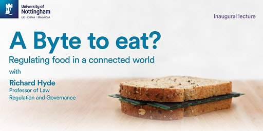 A Byte to Eat?: regulating food in a connected world