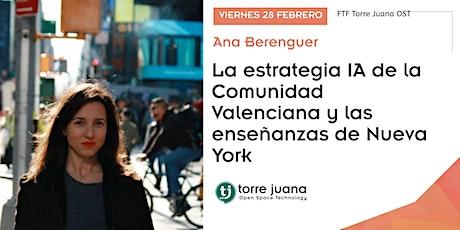 Ana Berenguer: La estrategia IA de la Comunidad Valenciana entradas