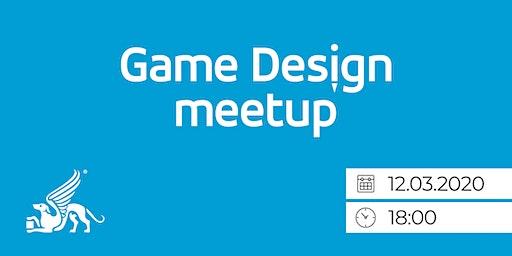 Game Design Meetup - Od gamera ku game designerovi
