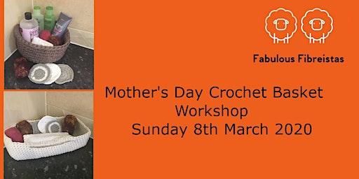 Crochet a Mother's Day Basket Workshop
