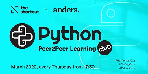 The Shortcut Python Coding Club - March 2020