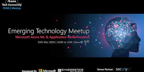 Azure Tech Community - Pune | 14 March 2020 tickets