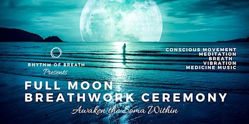 Full Moon Breathwork Ceremony - Awakening Soma - Brookvale