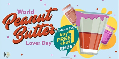 Peanut Butter Lover Day at Knowhere Bangsar tickets