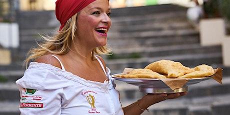 Pizza Fritta mit Teresa Iorio von Rossopomodoro (OFFICIAL) tickets