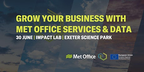 Grow Your Business With Met Office Services and Data tickets