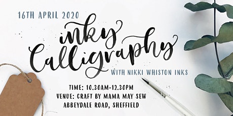 Beginner Modern Calligraphy Workshop - INK AND BRUSH tickets