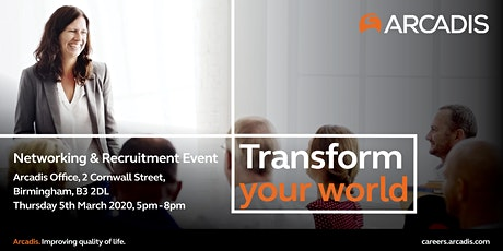 Network and Recruitment Event at Arcadis tickets