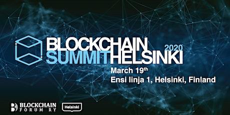 Blockchain Summit Helsinki 2020 tickets