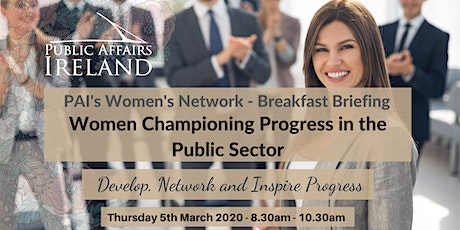 Women Championing Progress in the Public Sector tickets