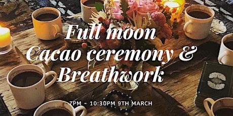 Full Moon Cacao Ceremony & Breathwork tickets
