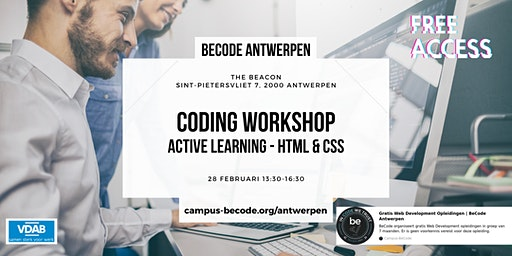 HTML & CSS Workshop - BeCode Antwerpen