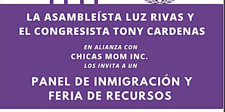Panel de Inmigración y Feria de Recursos tickets