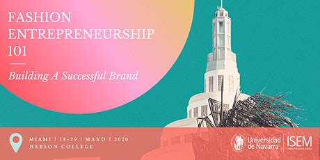 Fashion Entrepreneurship 101: Building A Successful Brand tickets