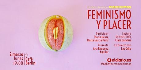 'Feminismo y placer': un encuentro de eldiario.es entradas
