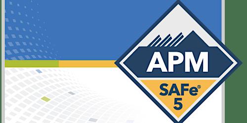 SAFe Agile Product Management with SAFe® APM 5.0 Certification Burlington, Vermont (Weekend)
