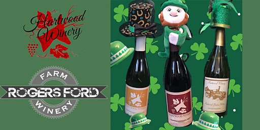 Hartwood's St. Paddy's Day Festival with Guest Winery Rogers Ford