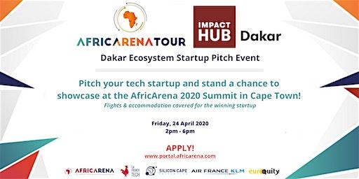 Dakar Startup Pitch Event - AfricArena Tour 2020