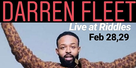 Darren Fleet with B Cole Jay Deep at Riddles Presented by Damon Williams  tickets