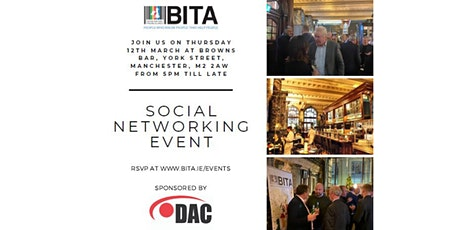 Manchester Networking Evening - 12th March tickets
