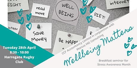 Wellbeing Matters tickets