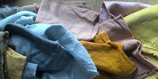 Natural Dyeing Workshop at Tide/ Llanw with Rachael Pilston