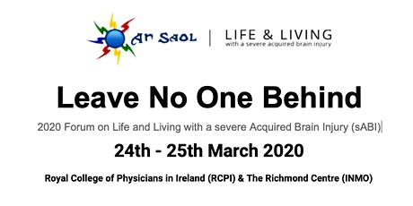 2020 Forum on Life and Living with a severe Acquired Brain Injury (sABI) tickets