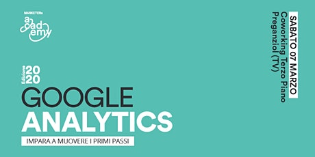 Google Analytics - Impara a muovere i primi passi biglietti
