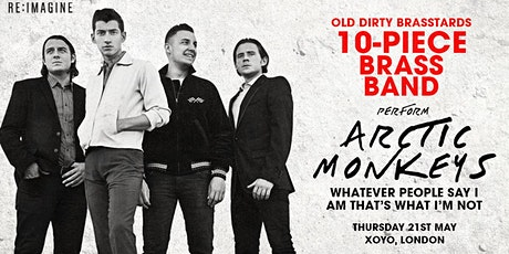 10 Piece Brass Band Perform Arctic Monkeys - Whatever People Say I Am... tickets