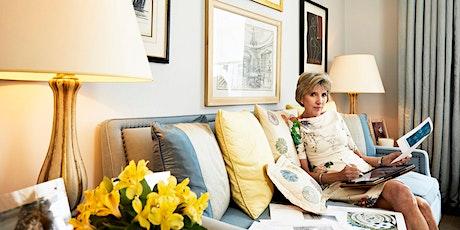 TALK: with Interior Designer Jane Churchill tickets