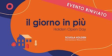[Rinviato] Holden Open Day | Storie che finiscono, e storie che invece no biglietti